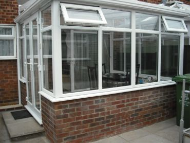 Tony's DIY Lean-to Conservatory