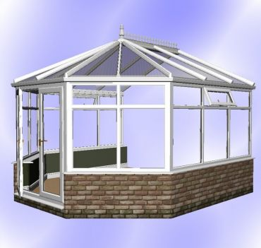 DIY Victorian Conservatory