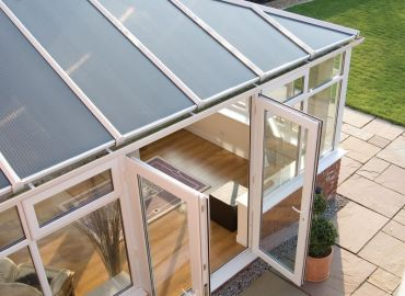 Standard 35mm polycarbonate roof