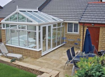 Bungalow gable conservatory