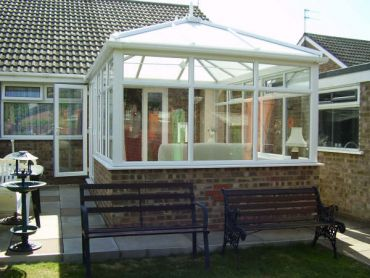 Colin's Hipped Back Edwardian Conservatory