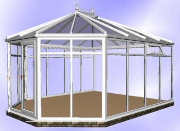 Hipped Victorian Conservatory