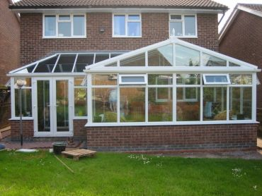 Garry & Carol's P-Shaped Conservatory