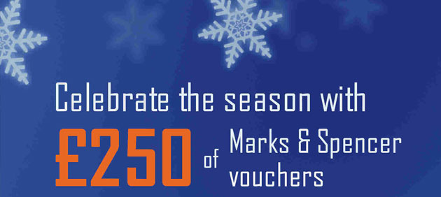 Celebrate the Season with £250