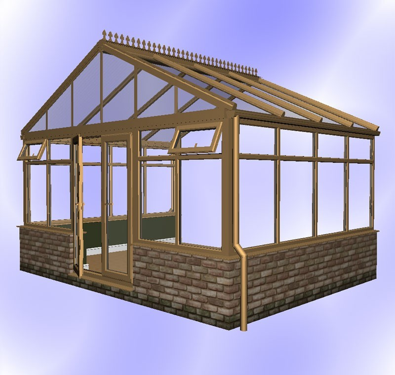 Diy Gable Conservatories Amp Self Build Conservatory Kits