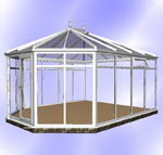 Full Height DIY Hipped Victorian Conservatory