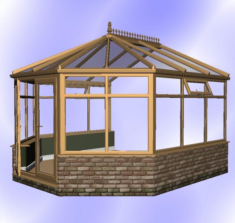 Diy Victorian Conservatories Amp Self Build Conservatory